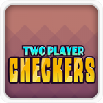 Two player checkers